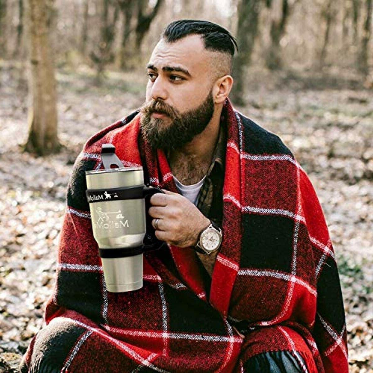 MalloMe 30 Cup Travel Mug 2 Lid