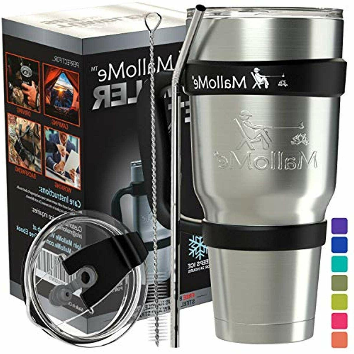 stainless steel tumbler 30 oz insulated coffee