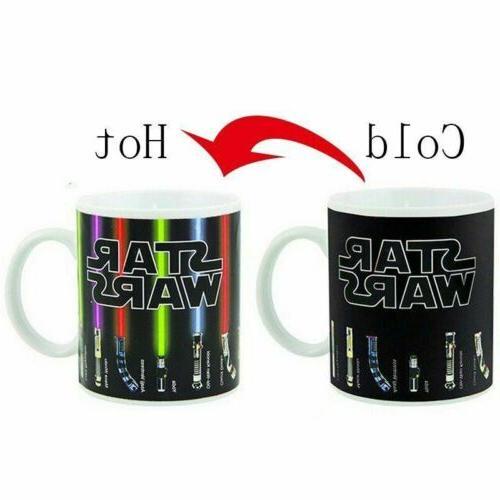 Star Wars Heat Sensitive Color Change Ceramic Cup Mug Lights