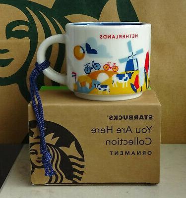 Starbucks City Mug Cup You are here Series YAH London Englan