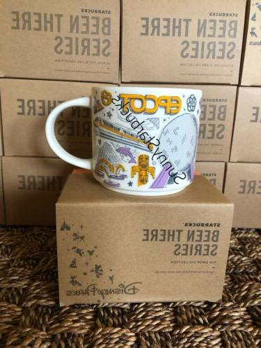 starbucks epcot been there mugs disney parks