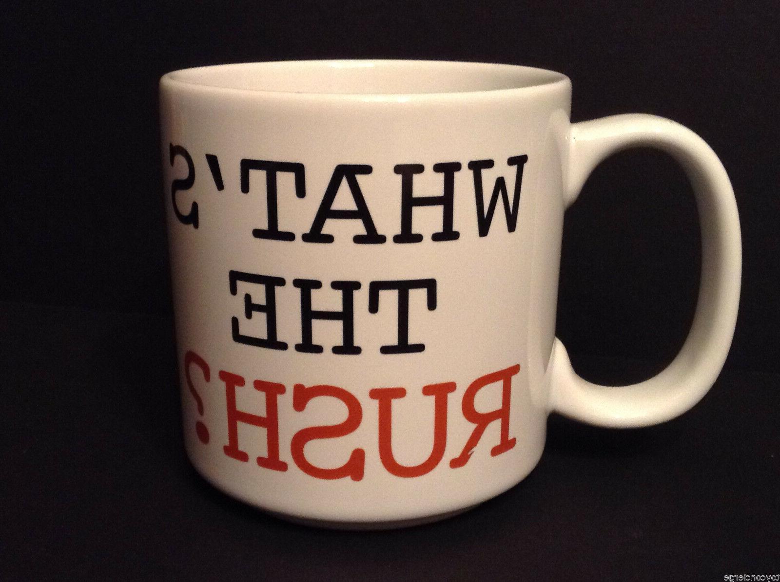 DISNEY Mug FLASH Cup RUSH 12 oz