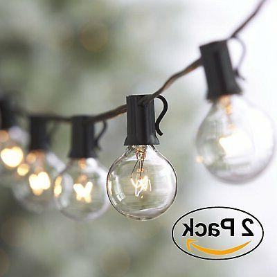 string waterproof globe light bulbs