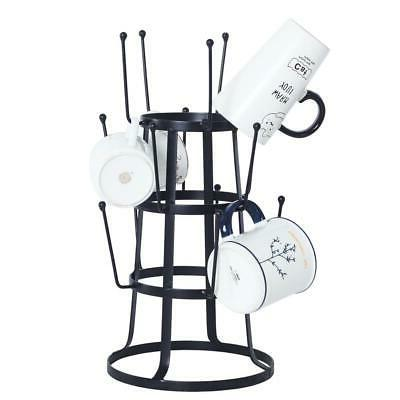 Mug Tree Cup Rack Holder Coffee Stand Storage Kitchen Organi
