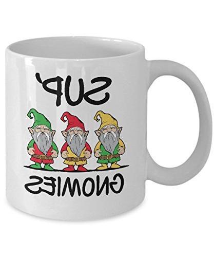 sup gnomies gnome funny graphic