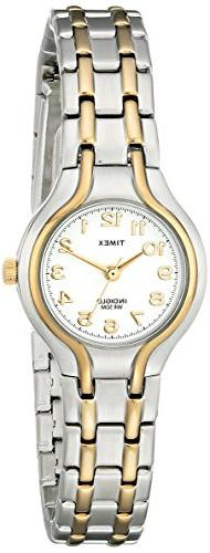 Timex Women's T27191 Linwood Street Two-Tone Stainless Steel