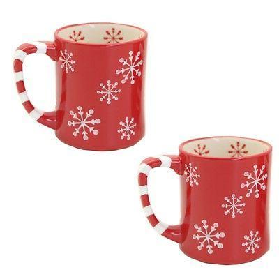 Temp-tations Snowflake Of 2 Mugs