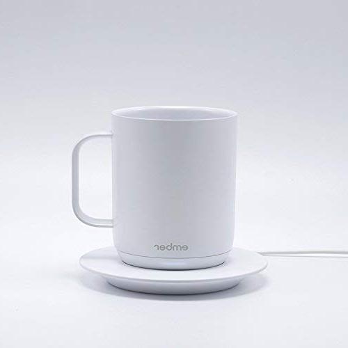 Ember Temperature Control Mug, White CM17