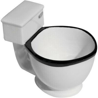 Evelots Toilet Mug/Cup-Ceramic-Tea/Beverage/Candies-10 Ounces-Hilarious