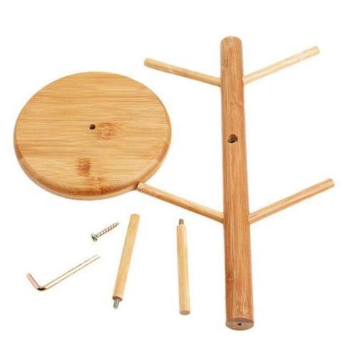 Tree Holder Wood Tea Display J