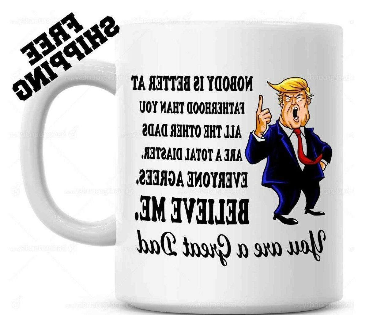 trump father s day mug fathers day