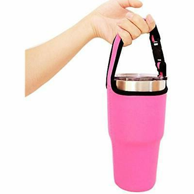 Tumbler Mugs Carrier Holder Pouch All Stainless 2