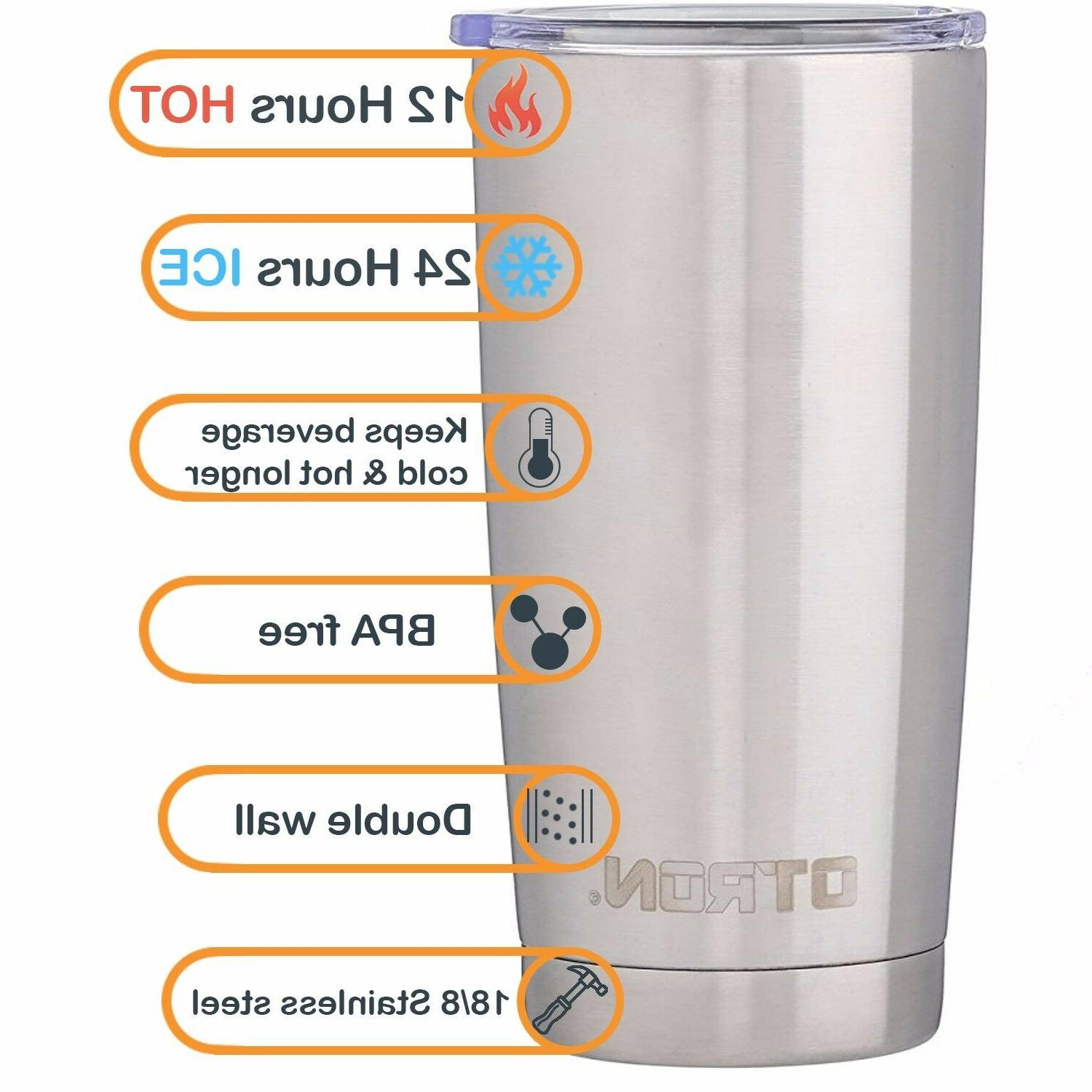 OTRON Tumbler Wall Vacuum Insulated Stainless