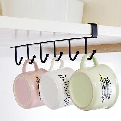 Under Shelf Coffee Mug Rack Cupboard