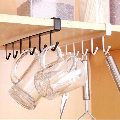 under shelf coffee cup mug holder hanger