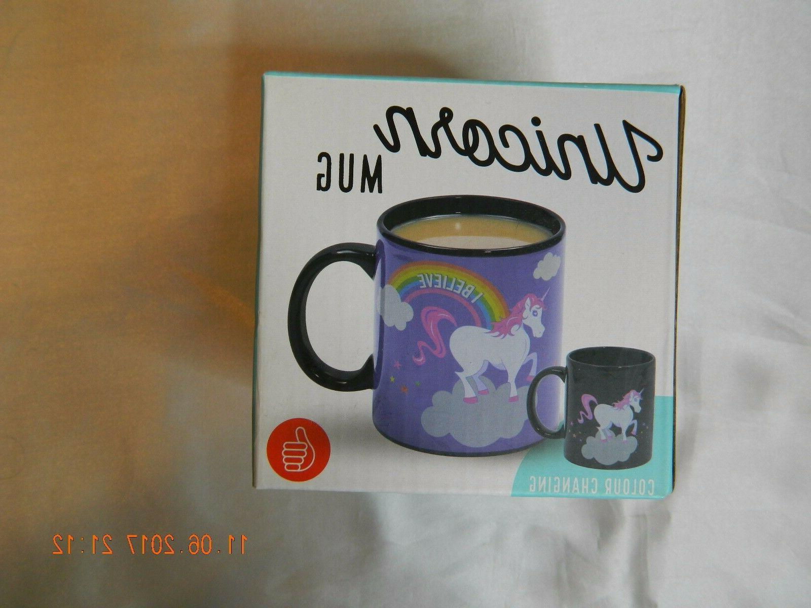 Unicorn Mug by Thumbs Up! Original Ceramic Color Changing BN