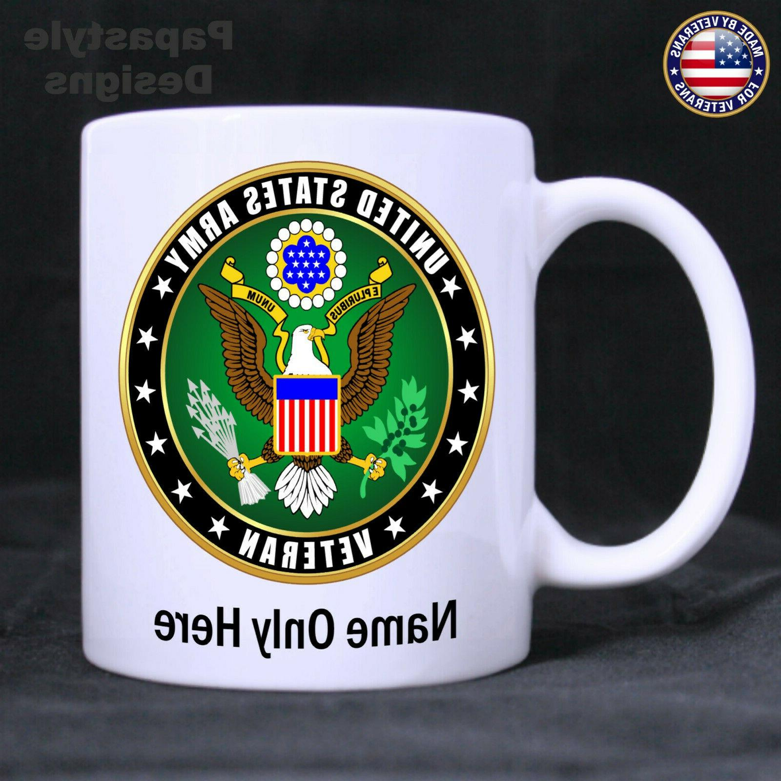 us army veteran personalized 11oz coffee mug