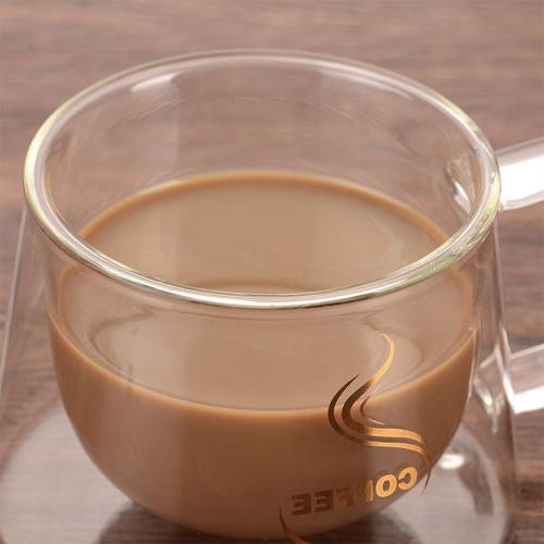 US Double Cups For Cappuccino Tea Espresso Mugs to L
