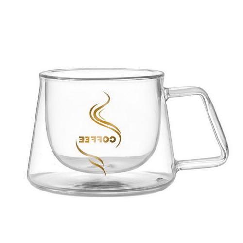 US Double Cups Cappuccino Tea Espresso to L Gift