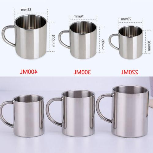 us stainless steel coffee tea mug cup