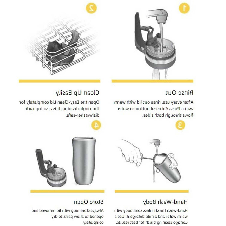 Vacuum Autoseal oz Mug Cup Hot Cold