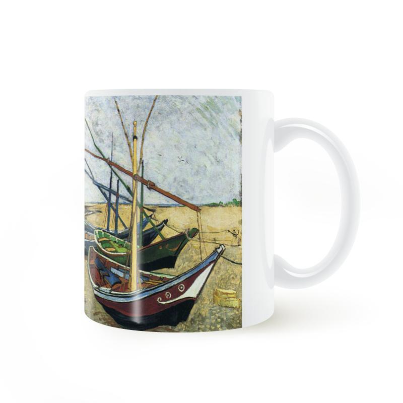 vincent van gogh fishing boat on