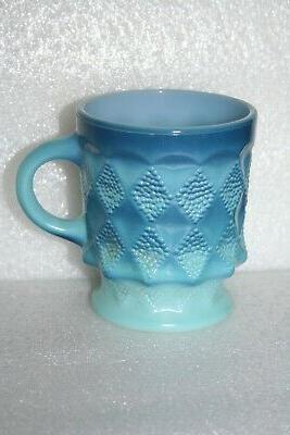 Vintage Fire King Hocking Coffee Milk Glass