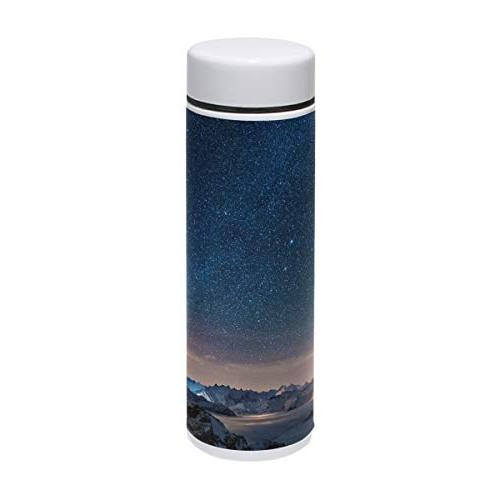 water bottle beauty starry night
