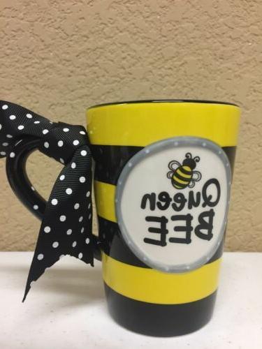 Whimsical Bee oz Coffee Mug Handle Gift
