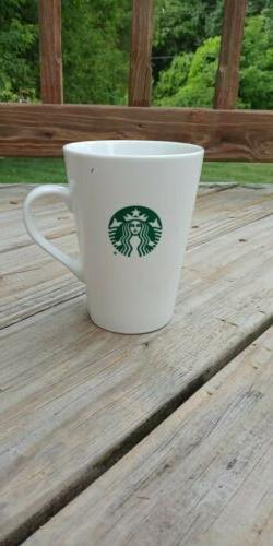 White STARBUCKS 16 Oz 2016 COFFEE MUG CUP Black Siren Mermai