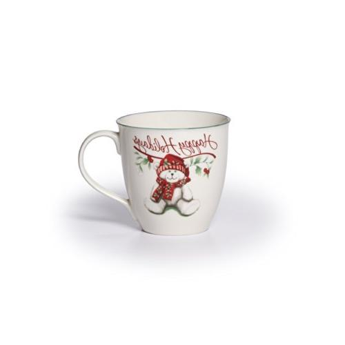 winterberry porcelain mug
