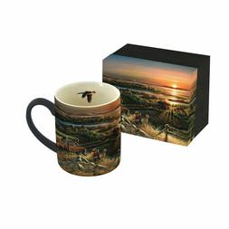 LANG 14 oz. Mug BEST FRIENDS Artwork by Terry Redlin
