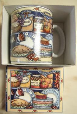 LANG & WISE Collector MUG Susan Winget art 1998 Close To My
