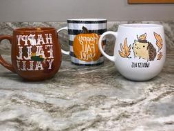 Large Coffee Mug Choose From Happy Fall Or Harvest Hog Prima