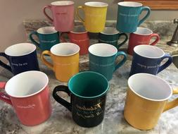 Large Coffee Mug Different Colors And Designs Love Your Mug