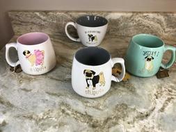 Large Coffee Mug Pug Life 10 Strawberry Street Different Mod
