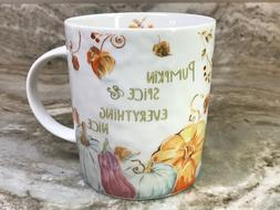 Large Coffee Mug Pumpkin Spice And Everything Nice Prima Des