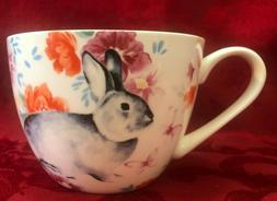 Portobello By Design Large Cup Mug Easter Rabbit Bunny Flora