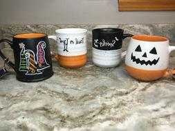 Large Halloween Coffee Mug. Choose Spooky, Witch Hats, Trick