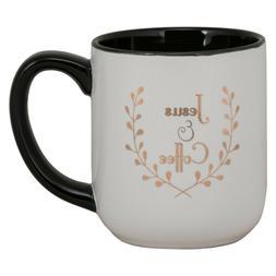 "Large Jesus & Coffee Mug 17.5"""