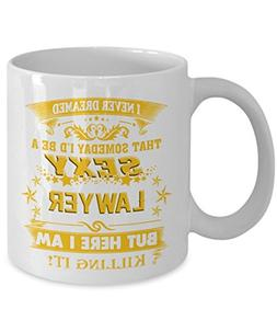 Lawyer Mug - Lawyer Coffee Mug - Funny Lawyer Mug - Future L