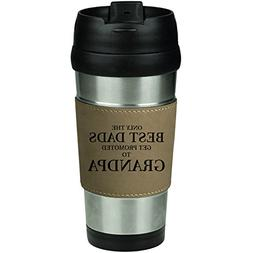 Leather & Stainless Steel Insulated 16oz Travel Mug The Best