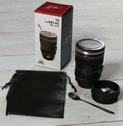 STRATA CUPS Camera Lens Coffee Mug -13.5oz, SUPER BUNDLE!  S