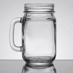 Libbey 16 Oz. Mason Jar Mug With Handle - Qty. 12
