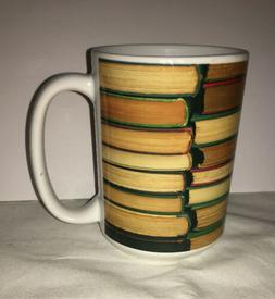 Library Books Literature Librarian Coffee Tea Ceramic Mug Of