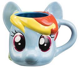 My Little Pony Rainbow Dash Sculpted Ceramic Mug 42001