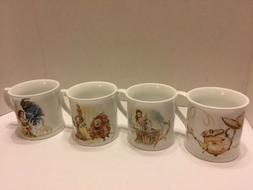 Disney Live Action Beauty And The Beast Mugs Set Of 4 HSN Ex