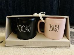 RAE DUNN LL - BRIDE and GROOM Mug/Cup Set