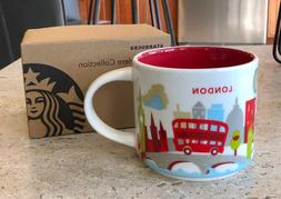Starbucks London UK You are Here YAH Collector Mug ~ Mint in
