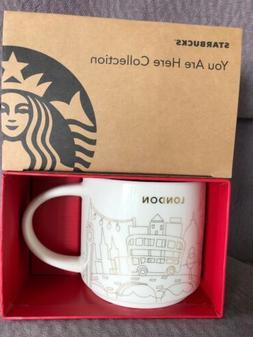 Starbucks London YAH Mug Christmas 2017 Big Ben Wheel Bus Ho